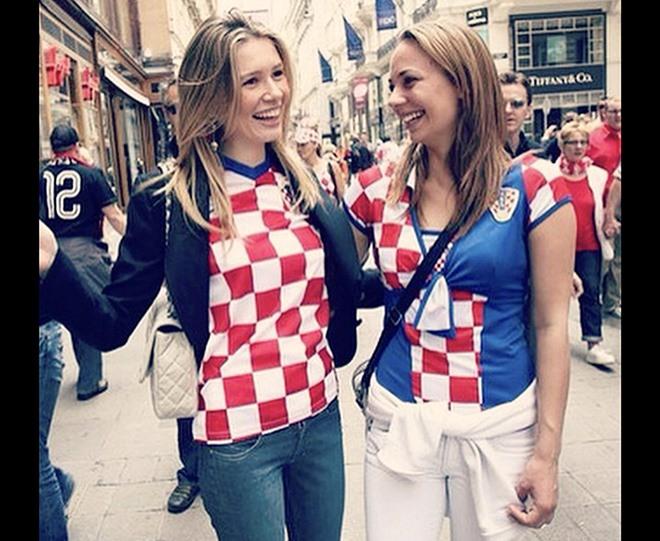 Anh vs Croatia: Nóng bỏng cuộc chiến giữa các WAGS - Bóng Đá