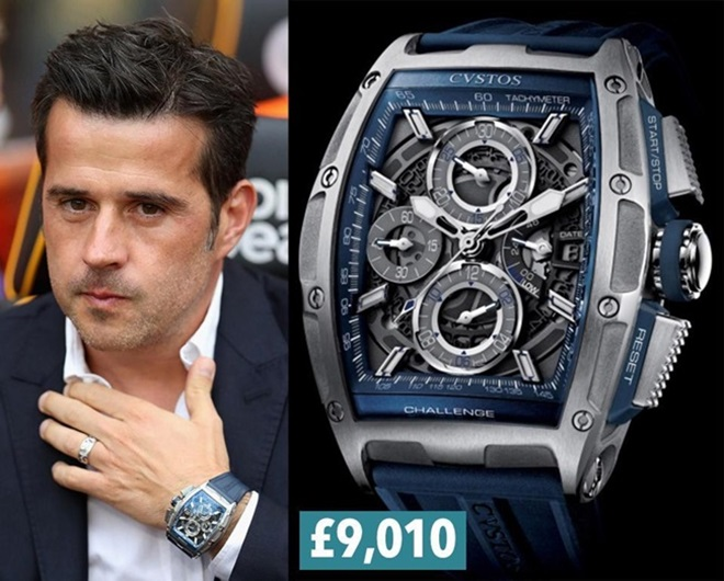 Bộ sưu tập đồng hồ của các HLV tại Premier League - Bóng Đá
