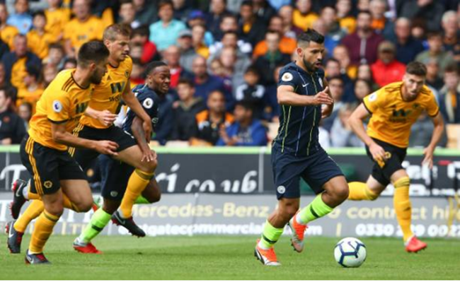 TRỰC TIẾP Wolves 0-0 Man City: Aguero sút trúng cột dọc (H1) - Bóng Đá