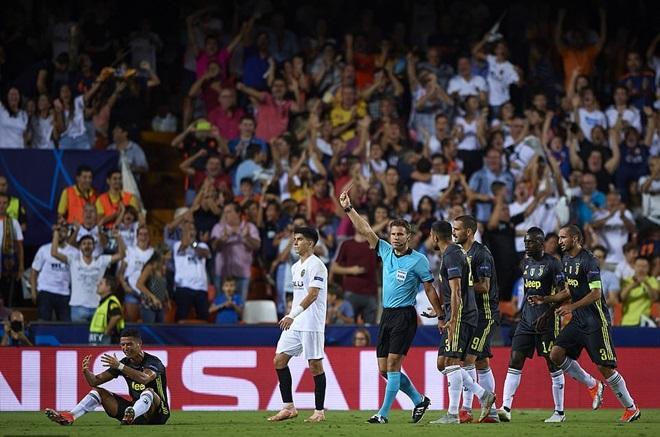 5 điểm nhấn valencia vs juventus - Bóng Đá