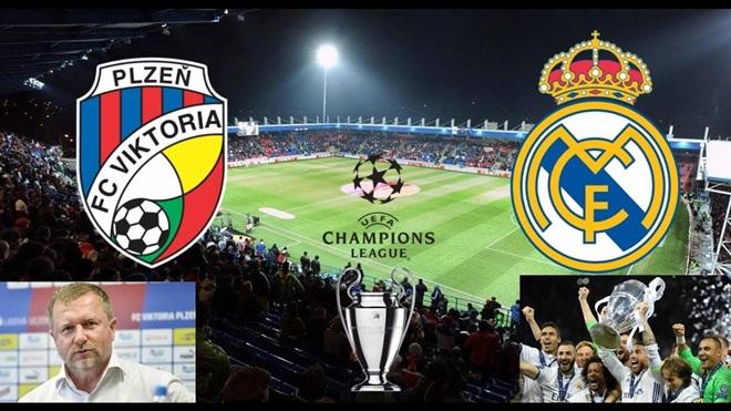 03h00 ngày 08/11, Plzen vs Real Madrid - Bóng Đá