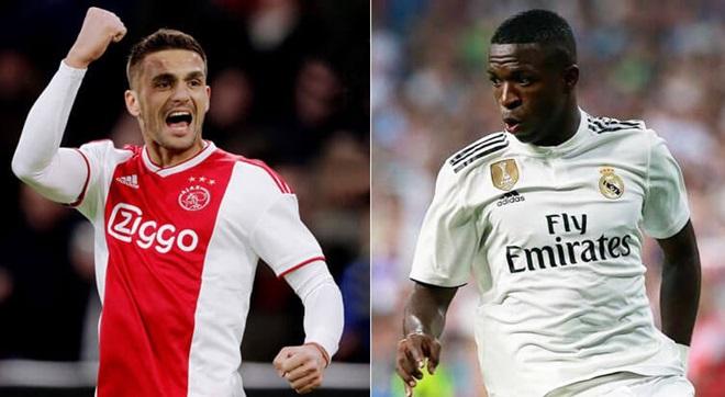 03h00 ngày 14/02, Ajax vs Real Madrid - Bóng Đá