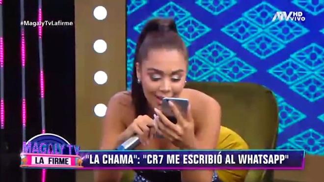 Ronaldo lộ tin nhắn gạ gẫm người đẹp Venezuela - Bóng Đá