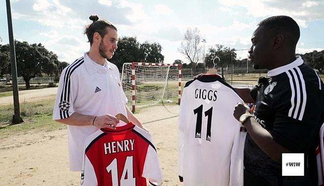 Gareth Bale thần tượng Henry, Bergkamp của Arsenal - Bóng Đá