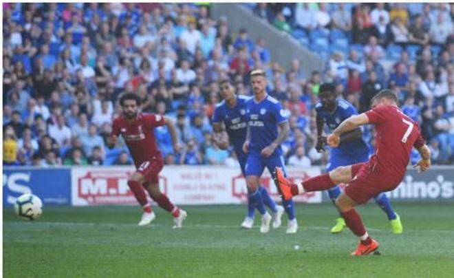 TRỰC TIẾP Cardiff City 0-2 Liverpool: Milner đá 11m thành công (H2) - Bóng Đá
