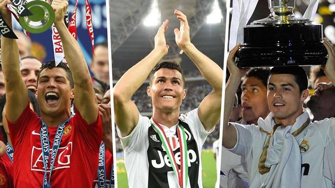 The GOAT? Ronaldo creates history as first player to win all three major leagues - Bóng Đá