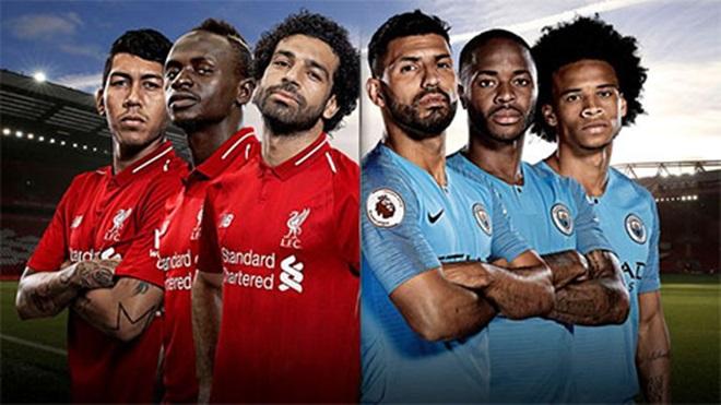 Những thống kê kinh ngạc nếu Liverpool, Man City vô địch EPL - Bóng Đá