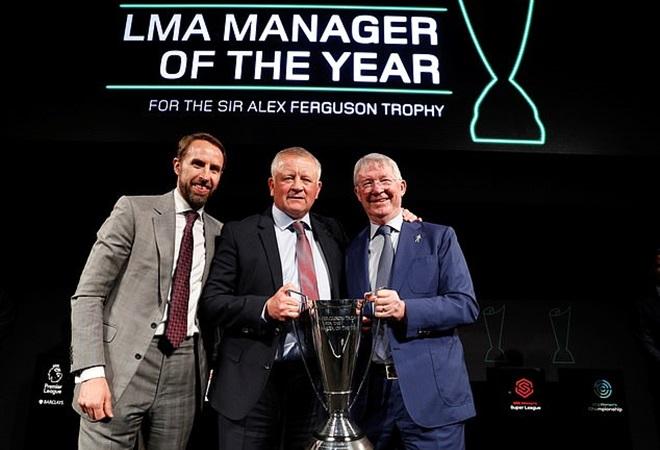 Hình ảnh buổi lễ trao thưởng HLV xuất sắc nhất năm (Daily Mail) - Bóng Đá