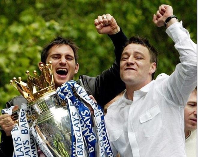 Chùm ảnh về John Terry và Frank Lampard (The Sun) - Bóng Đá
