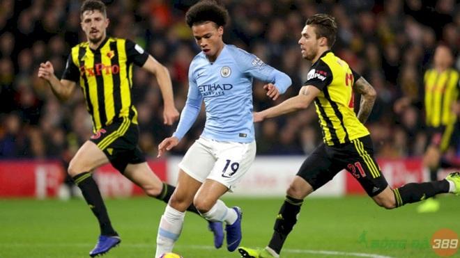 Nhận định Man City vs Watford - Bóng Đá