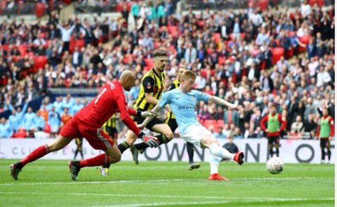 TRỰC TIẾP Man City 3-0 Watford: De Bruyne góp vui (H2) - Bóng Đá