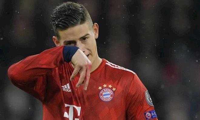 James Rodriguez cùng bạn gái trong buổi lễ kỉ niệm chức vô địch của Bayern (The Sun) - Bóng Đá