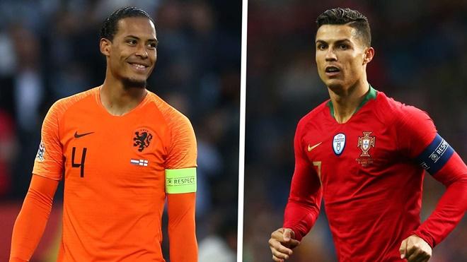 Van Dijk vs Ronaldo: Siêu trung vệ đọ tài cùng siêu tiều đạo - Bóng Đá