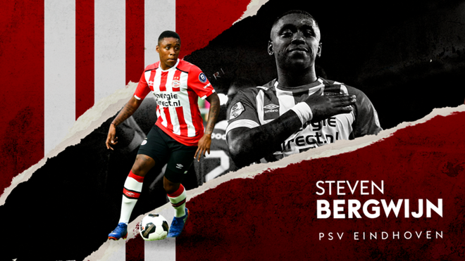Steven Bergwijn's potential is huge after breakthrough year with PSV - Bóng Đá