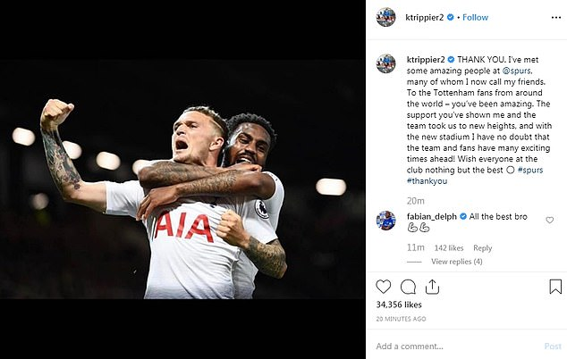 Kieran Trippier warmly greeted by Atletico Madrid team-mates as he trains for first time after signing from Tottenham in £20m deal - Bóng Đá