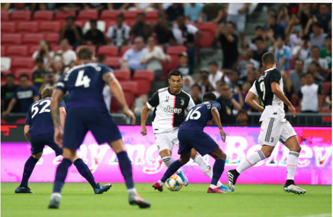 TRỰC TIẾP Juventus 0-0 Tottenham: Ronaldo