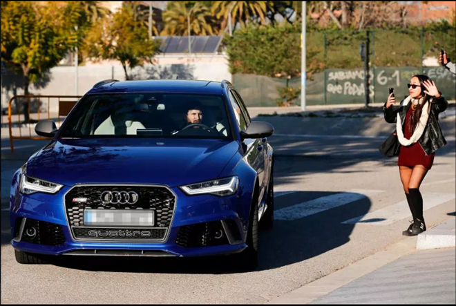 Messi and Barcelona team-mates ordered to return freebie cars to Audi within three weeks after sponsorship ends - Bóng Đá