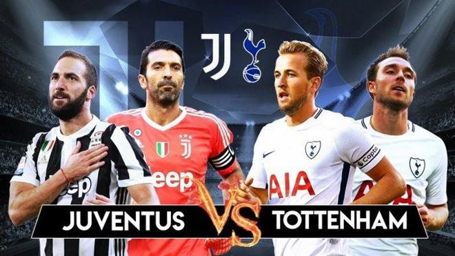 TRỰC TIẾP Juventus vs Tottenham: Đội hình dự kiến - Bóng Đá
