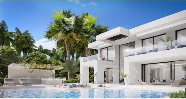 Inside Cristiano Ronaldo's new £1.3m Marbella villa with infinity pool and cinema room - Bóng Đá