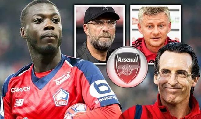 Vì sao Nicolas Pepe chọn Arsenal? - Bóng Đá