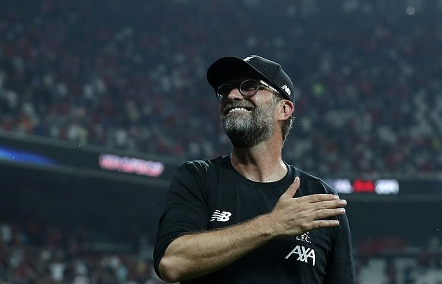 Jurgen Klopp hails reserve goalkeeper as Liverpool's very own Rocky Balboa after Spaniard's penalty heroics helps the Reds to Super Cup glory - Bóng Đá