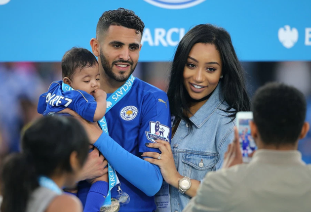 Riyad Mahrez's wife Rita filmed with feet on dashboard while driving at on motorway in shocking video - Bóng Đá
