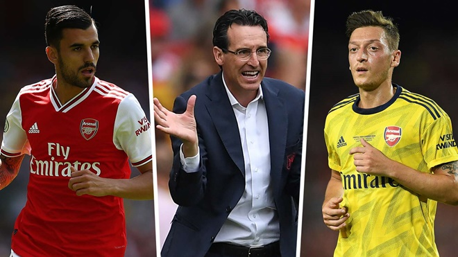 Ceballos showing why Ozil is fighting a losing battle with Emery at Arsenal - Bóng Đá