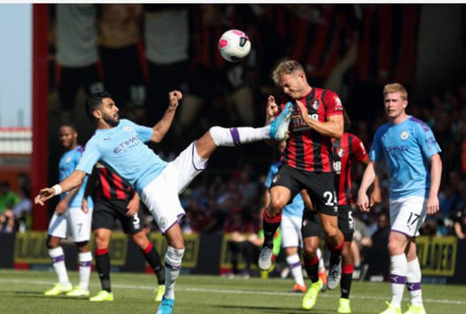 TRỰC TIẾP Bournemouth 1-3 Man City: Mahrez vào sân (H2) - Bóng Đá