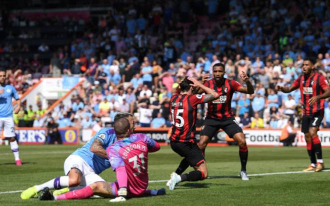 TRỰC TIẾP Bournemouth 1-2 Man City: Ederson xuất sắc cản phá (H2) - Bóng Đá
