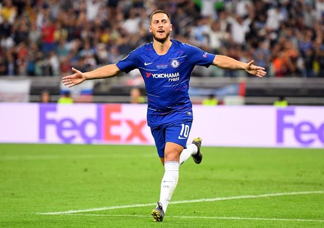 Ảnh Hazard tập (Daily Mail) - Bóng Đá