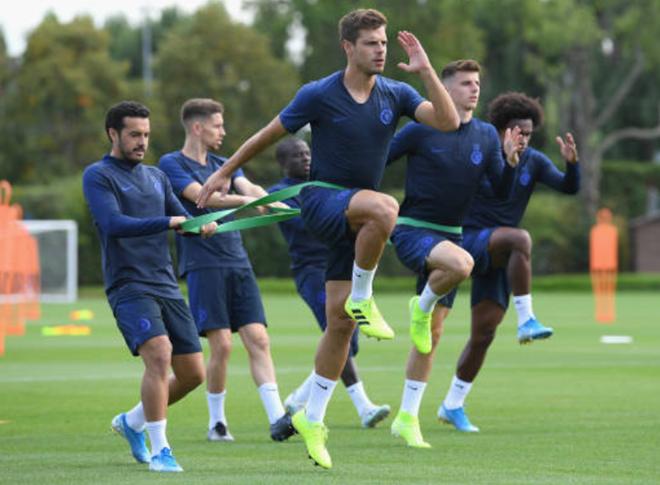 Ảnh Chelsea tập (Daily Mail) - Bóng Đá
