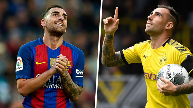 Ten goals in eight games! Barcelona will regret 'bad' treatment of incredible Alcacer - Bóng Đá