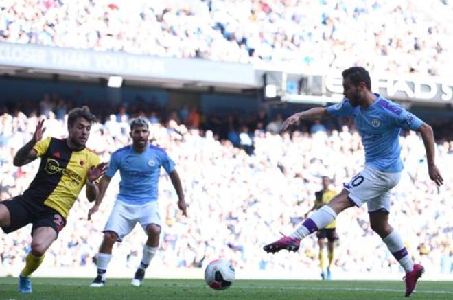 TRỰC TIẾP Man City 7-0 Watford: Hattrick cho B.Silva (H2) - Bóng Đá
