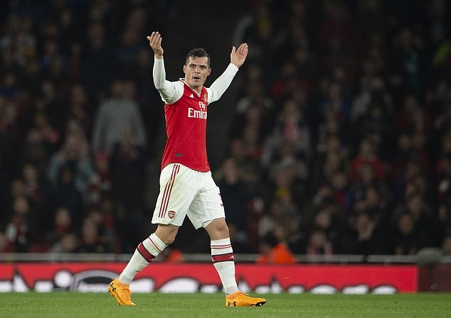 Xhaka's outburst at fans seemed like the point of no return at Arsenal… but how did the £35m man become the Gunners' boo boy? - Bóng Đá