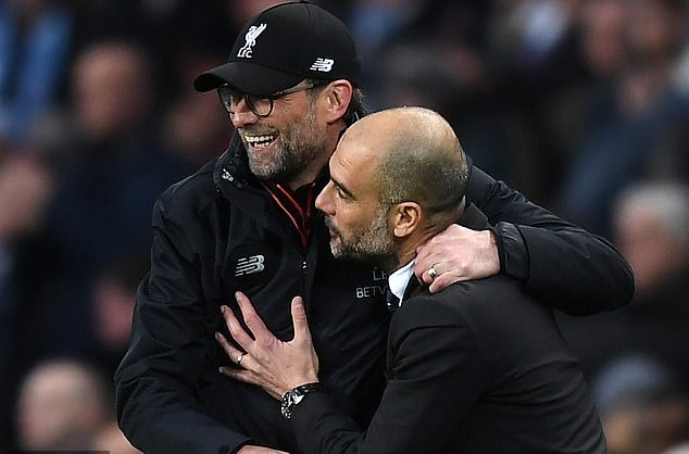 Jurgen Klopp vs Pep Guardiola: Their head-to-head record is dead even ahead of Liverpool's crunch clash with Manchester City - Bóng Đá