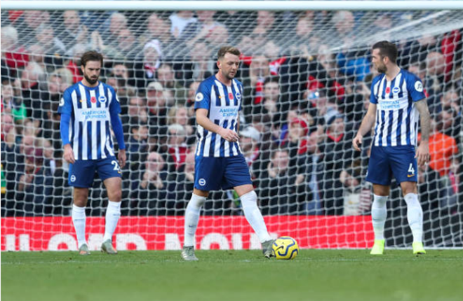 TRỰC TIẾP Man United 2-0 Brighton: Đội khách thay người (H2) - Bóng Đá