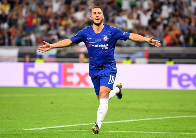 After a slow start to life, Eden Hazard is finding his feet at Real Madrid as his partnership with Karim Benzema begins to flourish - Bóng Đá