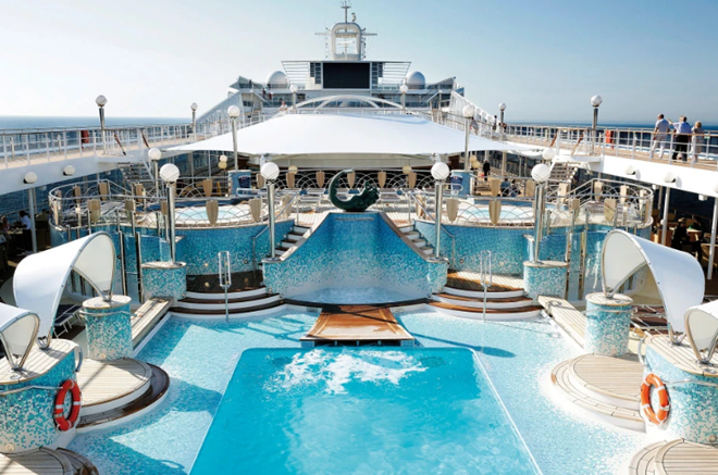 Inside luxury cruiseliner England fans can stay on at Qatar World Cup 2022 including poolside cinemas and whirlpool bath - Bóng Đá