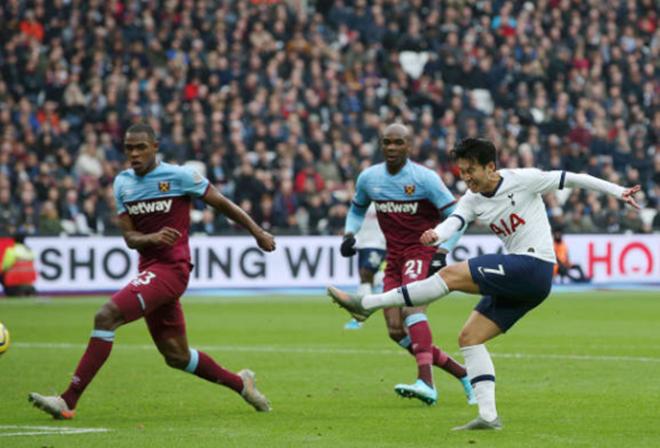 TRỰC TIẾP West Ham 0-1 Tottenham: Son dứt điểm cực căng (H1) - Bóng Đá