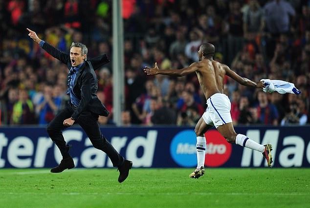 Những khoảnh khắc ấn tượng của Mourinho tại C1 - Bóng Đá