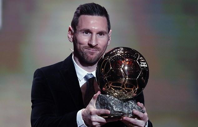 Lionel Messi wins record SIXTH Ballon d'Or as he edges out Liverpool's Virgil van Dijk... with Cristiano Ronaldo snubbing Paris ceremony - Bóng Đá