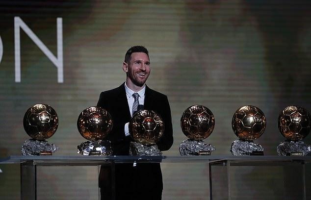 Lucky88 tổng hợp: Xuất sắc đánh bại Van Dijk, Messi lần thứ 6 đoạt Quả bóng vàng