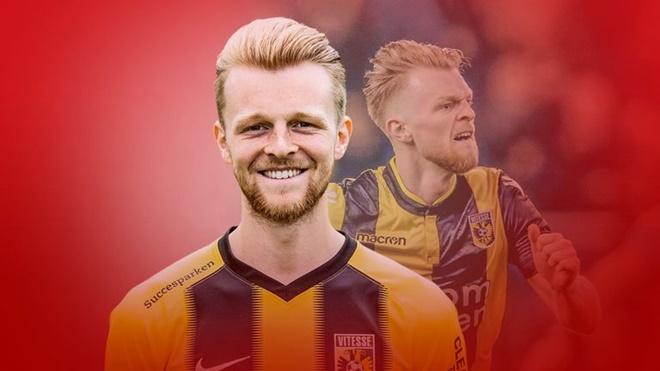 Max Clark on England link sparked by his Eredivisie form at Vitesse - Bóng Đá