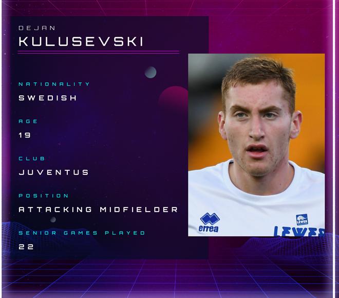 Dejan Kulusevski: From rejecting Arsenal to Juventus' new €35m teen star - Bóng Đá