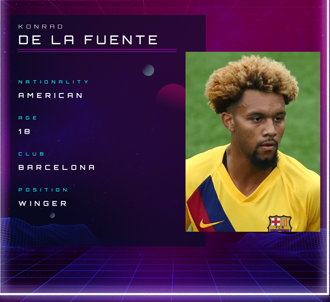 Konrad de la Fuente: Barcelona's future U.S. star who could turn his back on La Masia - Bóng Đá