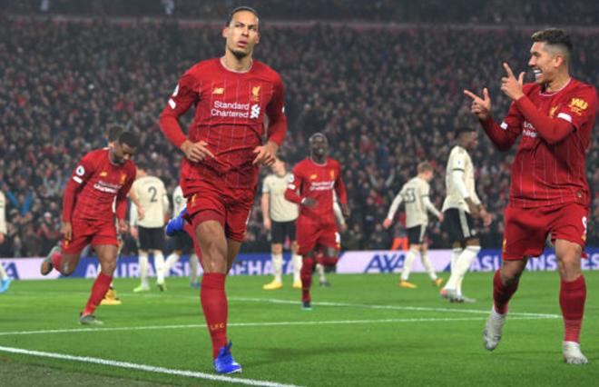 TRỰC TIẾP Liverpool 1-0 Man United: Van Dijk trừng phạt Quỷ đỏ (H1) - Bóng Đá