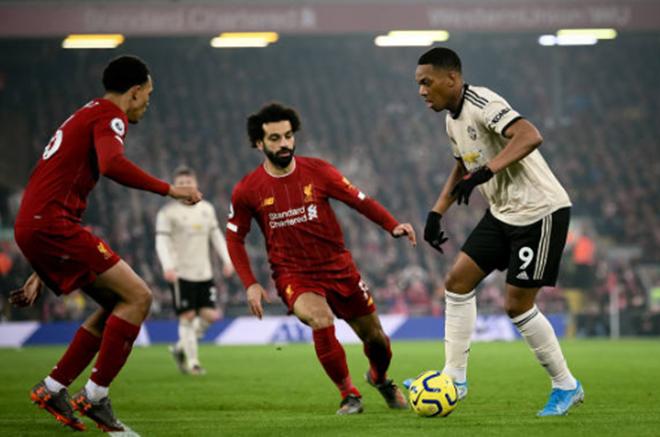 TRỰC TIẾP Liverpool 1-0 Man United: Martial bỏ lỡ đáng tiếc (H2) - Bóng Đá