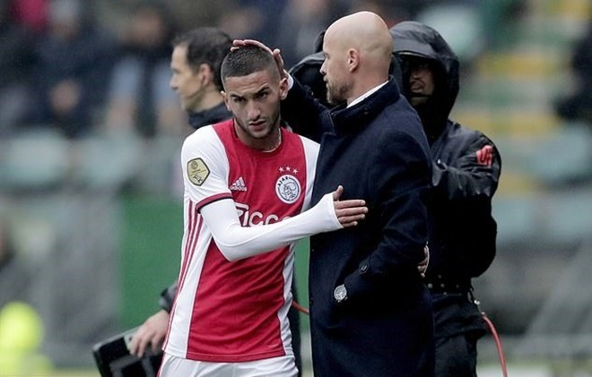 Hakim Ziyech to Chelsea: Where will Ajax star fit in at Stamford Bridge? - Bóng Đá