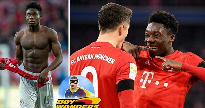Alphonso Davies was born in a refugee camp, fled to Canada and helped Bayern Munich destroy Chelsea in Champions League - Bóng Đá