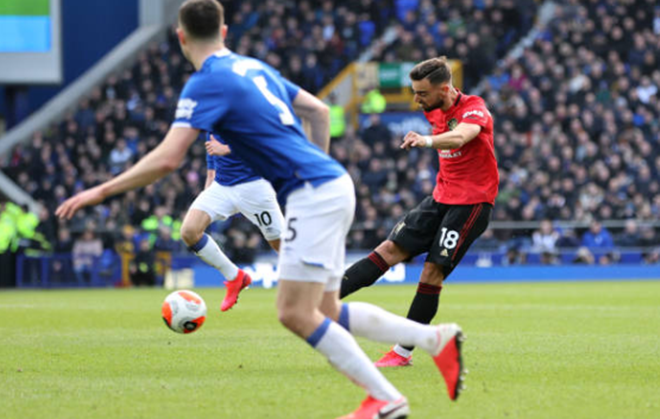 TRỰC TIẾP Everton 1-1 Man United: Bruno Fernandes!!!!!!  (H1) - Bó.ng Đá.